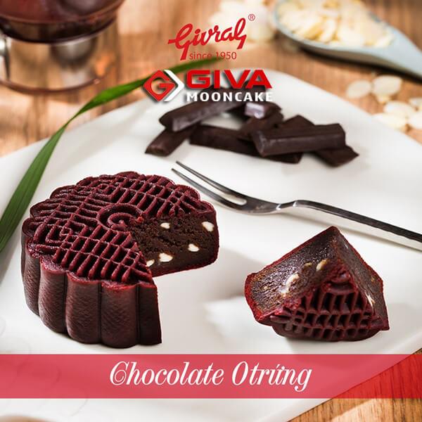 Bánh trung thu Givral Chocolate 0 trứng