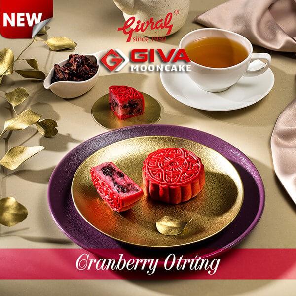 Bánh trung thu Givral Cranberry 0 trứng