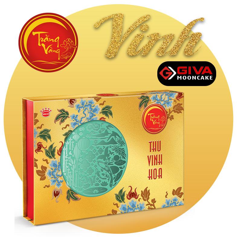 bánh trung thu kinh đô Trăng vàng Hoàng Kim Vinh Hoa Vàng