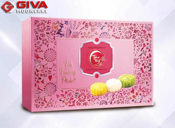 bánh trung thu kinh đô Trăng vàng Pha lê Trường phúc hồng