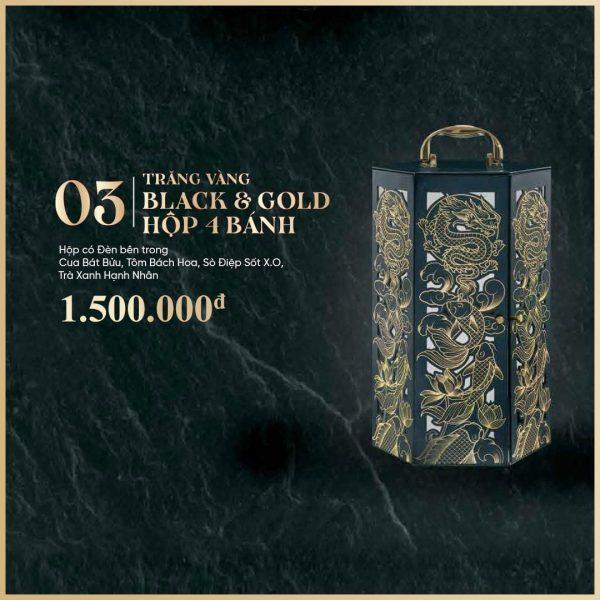 trăng vàng 4 bánh black and gold